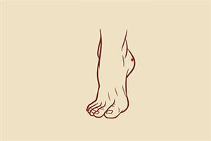 痣相分析女人脚后跟有痣代表什么意思?一生富贵吗?