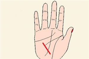 手相健康线是怎么形成的,出现健康线代表什么?
