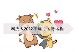 属虎人2022年每月运势运程,桃花旺盛