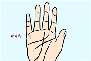 男人手相财运线看左手还是右手?