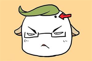 男人左額頭有痣代表什么,早年就能出人頭地?