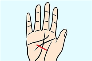 健康线与其他掌纹构成大三角,代表什么含义?