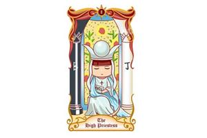 塔罗牌女教皇正位爱情处于怎样的状态?