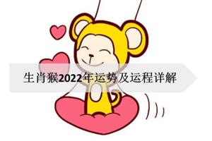 生肖猴2022年运势及运程详解