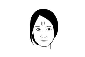女人额头有竖纹的面相分析,是富贵命吗?