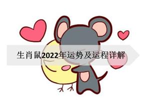 生肖鼠2022年运势及运程详解