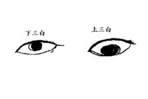 下三白眼的男人性格怎么样,命运是好是坏?
