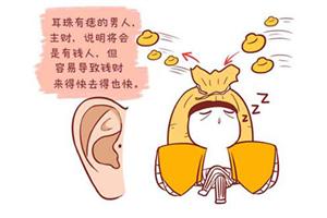 痣相分析耳朵有痣的男人好不好?耳珠有痣者财运亨通