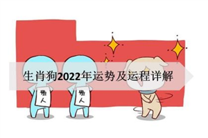 生肖狗2022年运势及运程详解