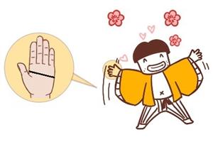 手相分析感情线和智慧线连在一起,真假断掌怎么分?