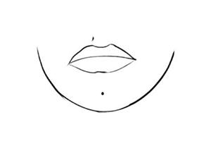 女人下巴长痣代表什么?情路坎坷?