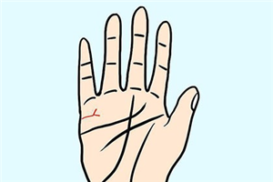 手相婚姻线分叉是怎么回事?