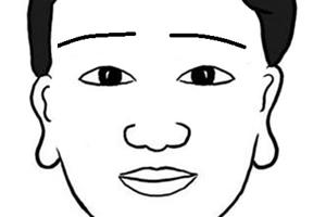 眉毛下垂的男人性格怎么样,会对老婆好吗?