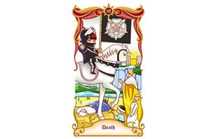 塔罗牌中的死神代表什么?死神正位逆位各有什么寓意?