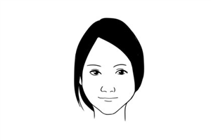 面相分析鼻头没肉的女人命好吗?财运时好时坏?