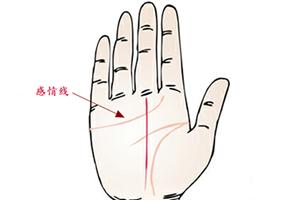手相感情线深长代表什么意思?
