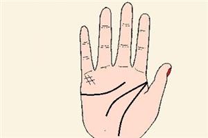 手掌水星丘有井字纹是什么意思,能够富甲一方?