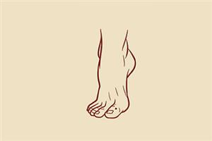 体相分析脚背厚的男人命运如何,运势平稳,生活顺利?