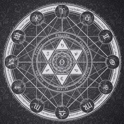 塔罗牌六芒星测试_六芒星占卜法_六芒星预测法